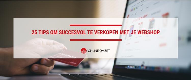 succesvol verkopen met je webshop