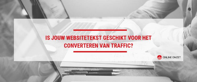 Converterende websiteteksten leren schrijven