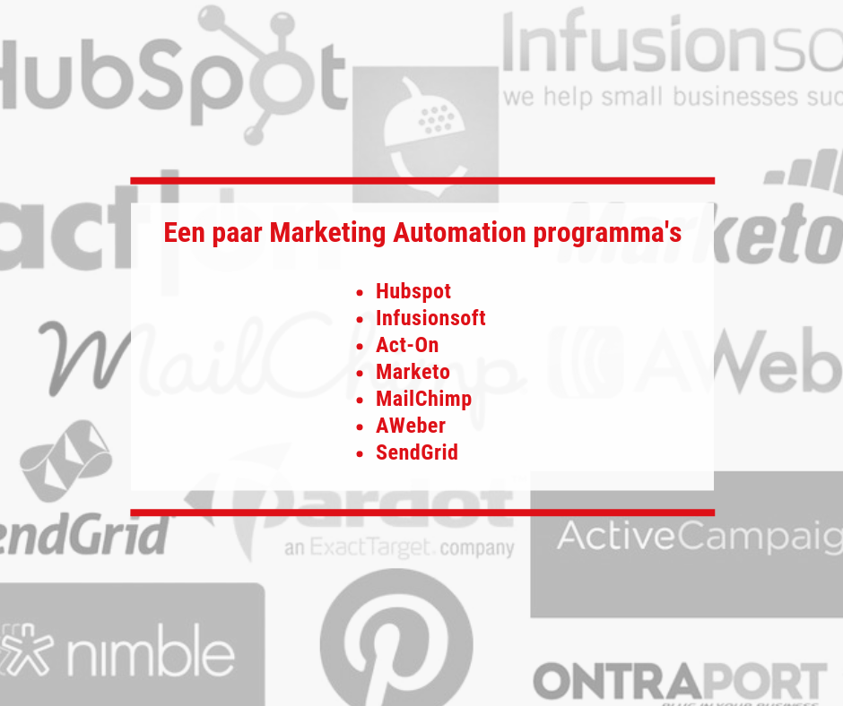 Diverse marketing automation tools