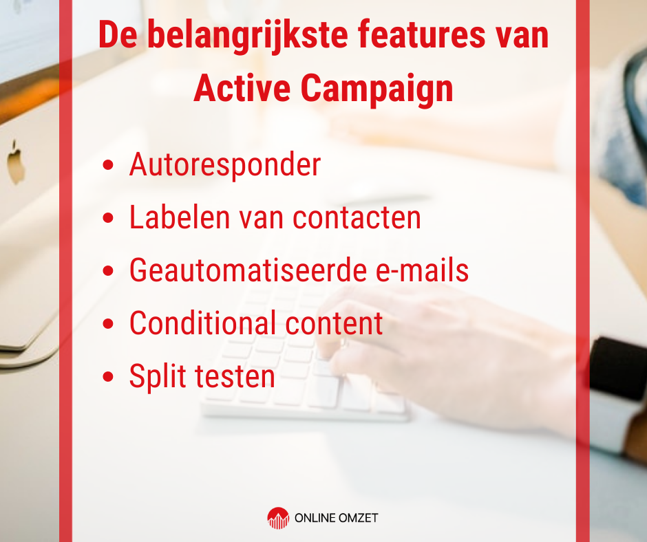 Active Campaign Features