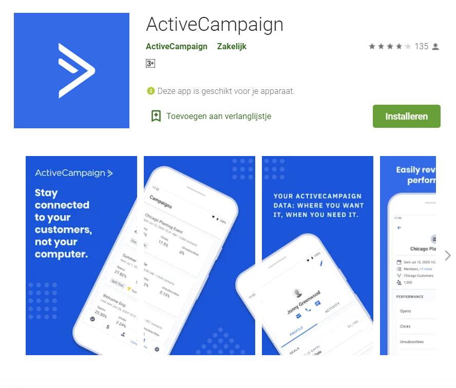 Active Campaign App