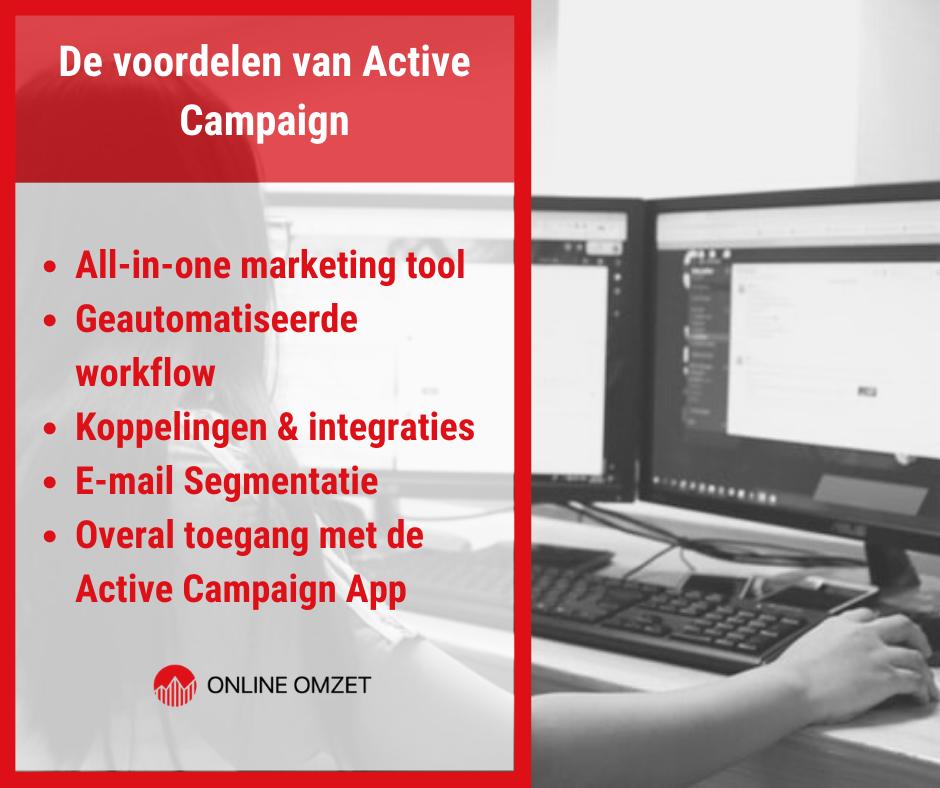 De voordelen van Active Campaign